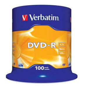 DVD‑R 16x Matt Silver