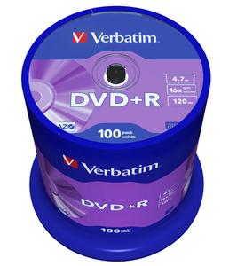DVD+R 16x Matt Silver