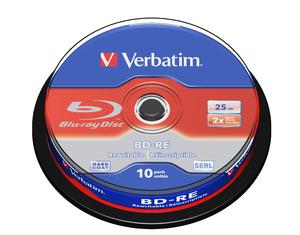 Verbatim Blu-Ray Disc | BD-R, BD-RE | Blu-Ray Recordable