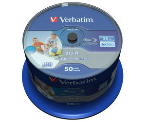 BD‑R SL Datalife 25GB 6x Wide Inkjet Printable