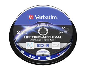 MDISC Lifetime Archival BD‑R de 25 GB