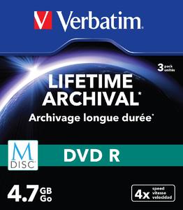 MDISC Lifetime Archival DVD R 4,7 GB