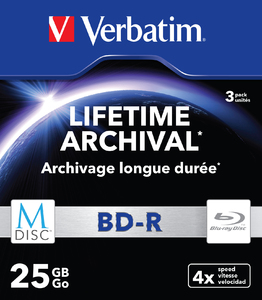 Диск MDISC Lifetime Archival BD‑R 25�ГБ