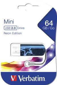Мини‑USB‑накопитель Neon Edition