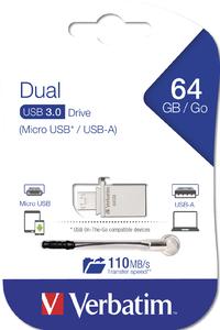 Dual OTG USB 3.0‑mikrominne