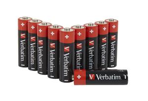AA alkaliska batterier