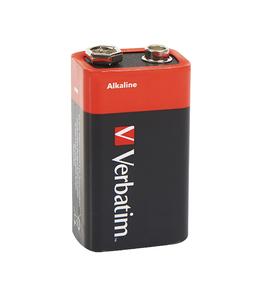 9V alkaline‑batterier