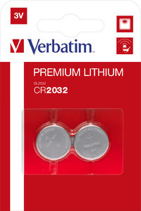 CR2032 3V Lithium Battery (2 pack)