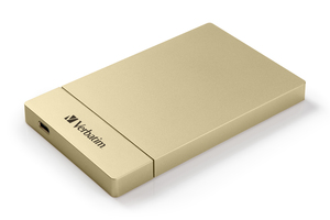 Store 'n' Go 2.5'' HDD/SSD Enclosure Kit USB‑C/3.1 ‑ Gold