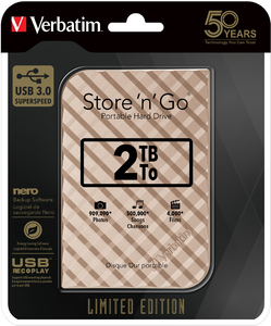 Store 'n' Go USB 3.0 Anniversary Edition Hard Drive