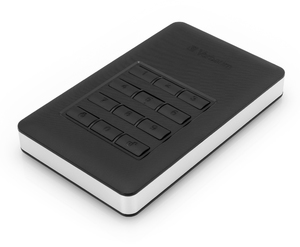 Store 'n' Go Secure Portable HDD with Keypad Access